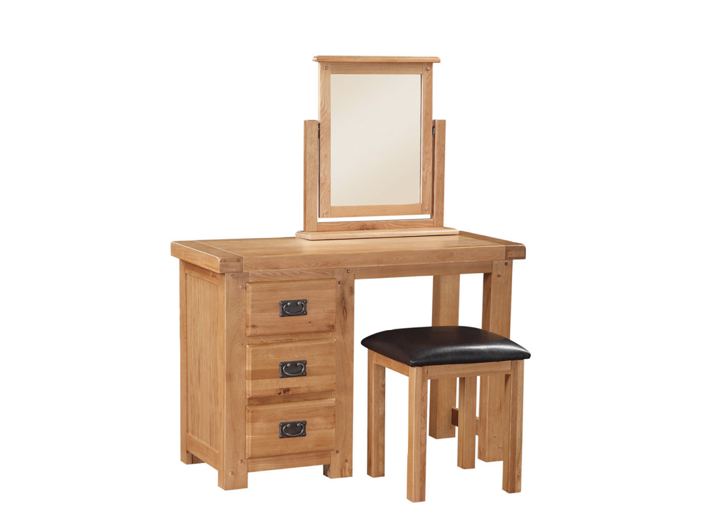 Somerset Dressing Table Stool And Vanity Mirror Caprice